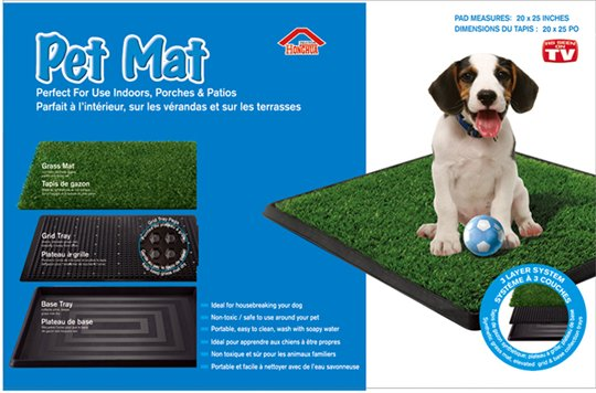 Туалет-травка Pet Mat